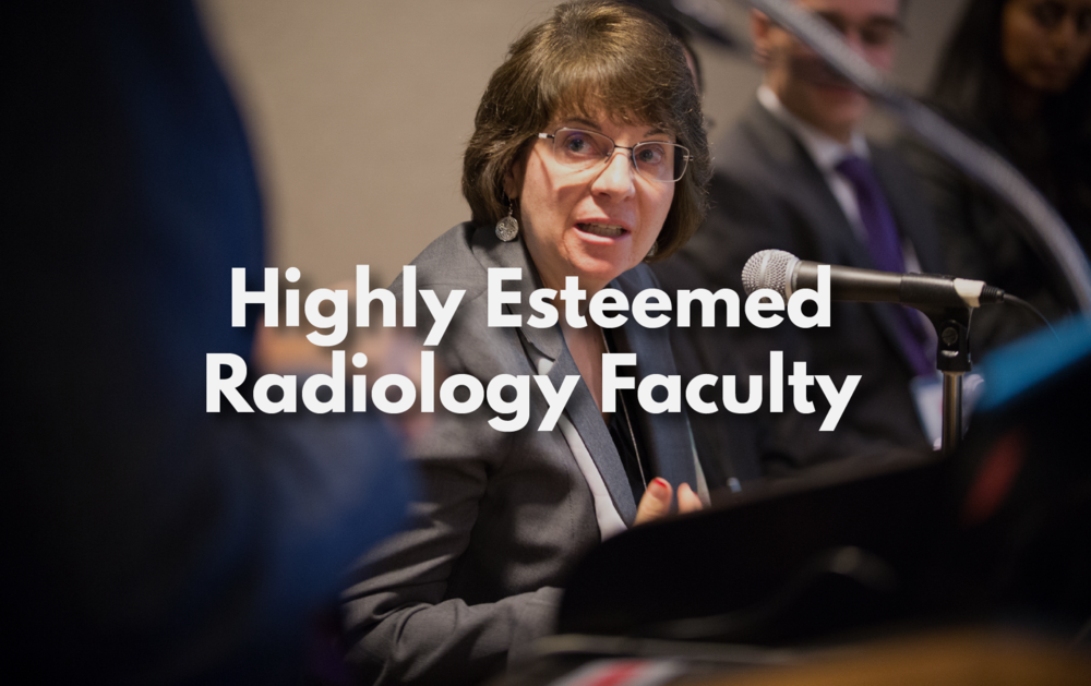 radiology faculty, CT faculty, radiologists