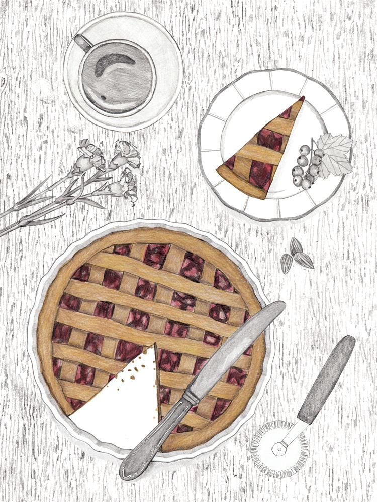 Food Blog aus Wien. illustrierte Rezepte.