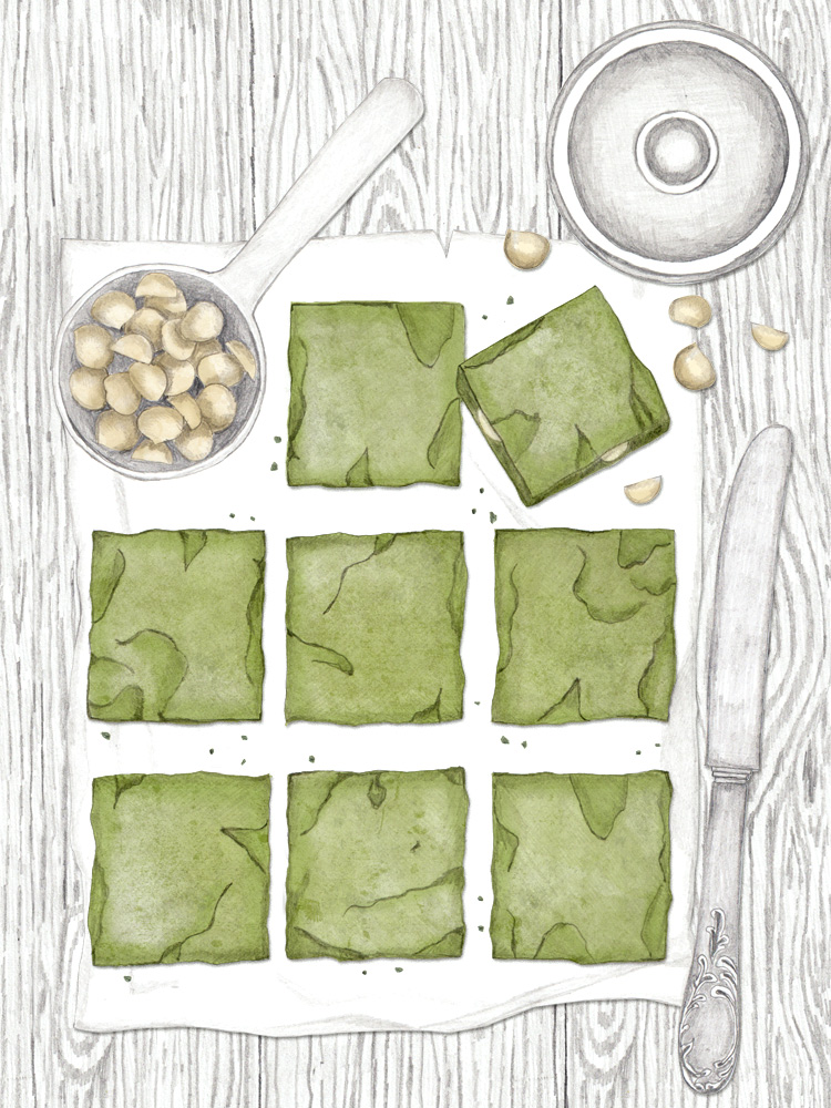 Greenies, Matcha Brownies, Rezept zum Nachbacken, Newcakesontheblock, deutscher foodblog