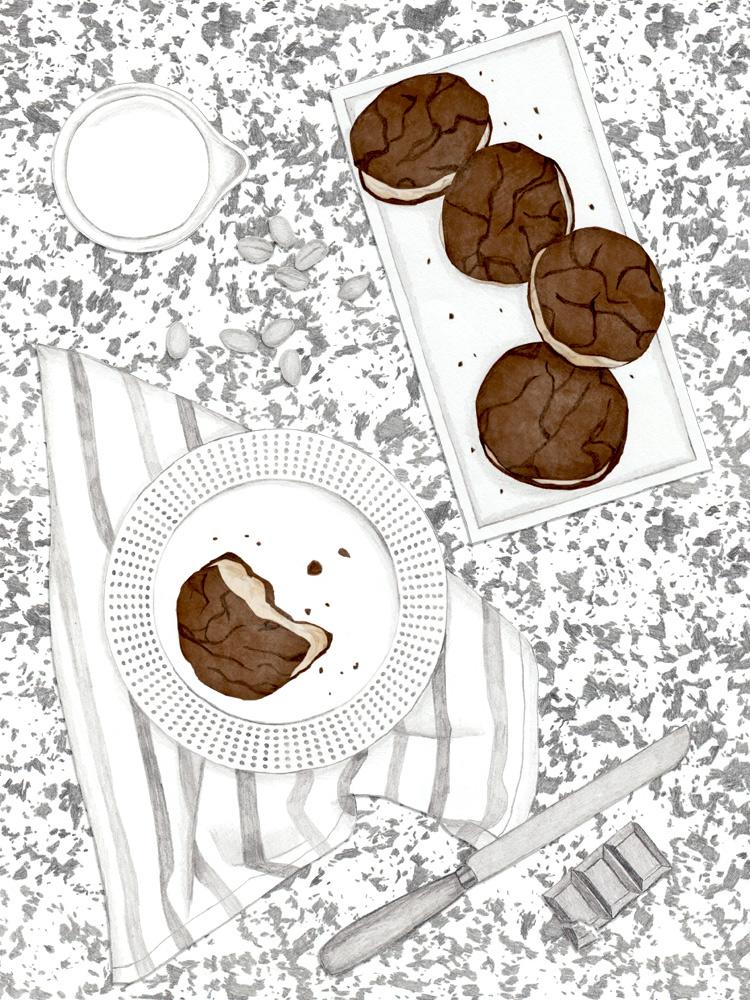 Erdnussbutter Cookies, Rezept, Blog, Kuchen, www.newcakesotnheblock.com