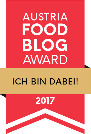 "Hurra! Ich bin unter den 6 Nominierten in der Kategorie ""Backen & Süsses""!"