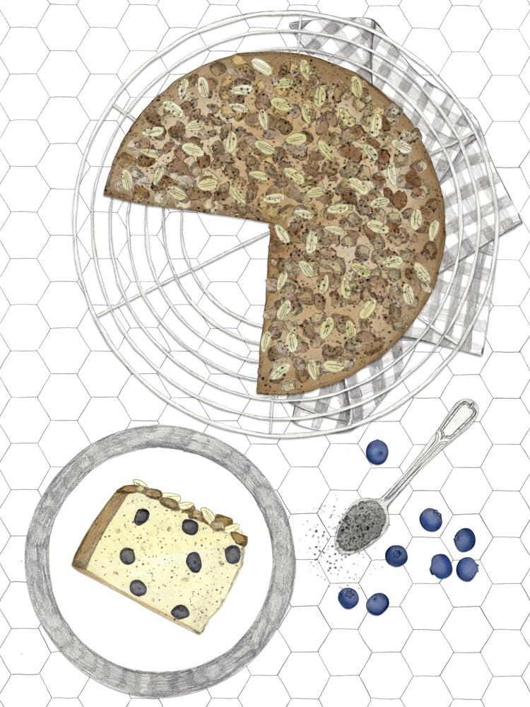 Mohn, Beeren und ein Hauch Zitrone. Schnelles und einfaches Rezept zum Nachbacken. Österreichischer Foodblog. New Cakes On The Block