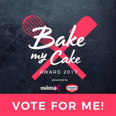 Eigens für den Bake My Cake Award habe ich einen herrlichen Mohn-Pudding-Kuchen kreiert! Drückt mir die Daumen und bitte votet für mich!
