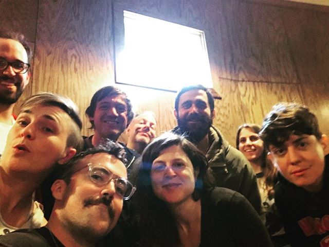 Had a great time@with these weirdos at @lgtbiz recording and visiting can't wait to see what comes out of it #cruisinrecords #nanagrizol #loamlands #queermusic #queerappalachia