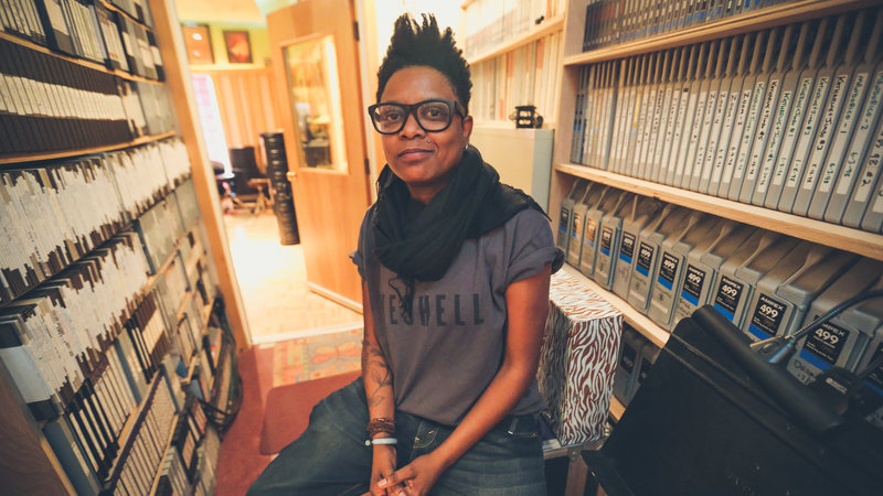 Shirlette Ammons  - About as gay (amazing) as you can get.  Queer hip hop out of durham, nc