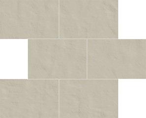 02 polvere naturale  modulo muretto sfalsato 10x15 30x30 cm