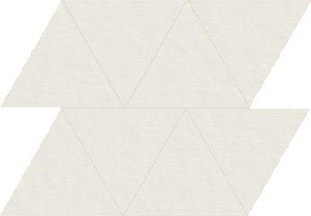 01 bianco naturale  modulo triangolo 10x15 cm
