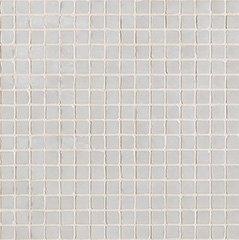 01 bianco lux  mosaico vetro lux a 30x30 cm