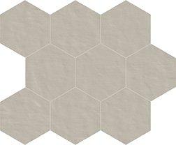 03 perla naturale  mosaico esagono 10x10 cm