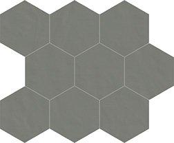 06 grafite naturale  mosaico esagono 10x10 cm
