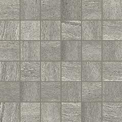 Grey matte  mosaico 5x5 30x30 cm