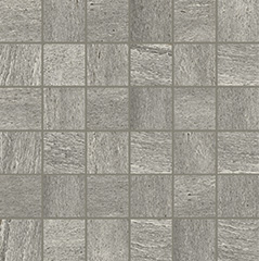 Grey glossy  mosaico 5x5 30x30 cm