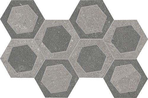 """Grey / Dark Grey  19.6x34.2 - 711/16""""x137/16"""""""