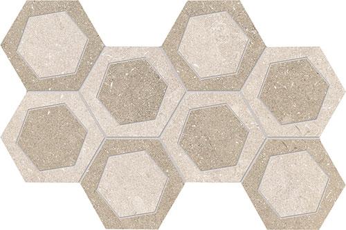 """White / Sand  19.6x34.2 - 711/16""""x137/16"""""""