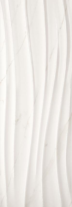 """CALACATTA WHITE  Swing glitter  13 3/4""""x39""""  Thickness 11 mm"""