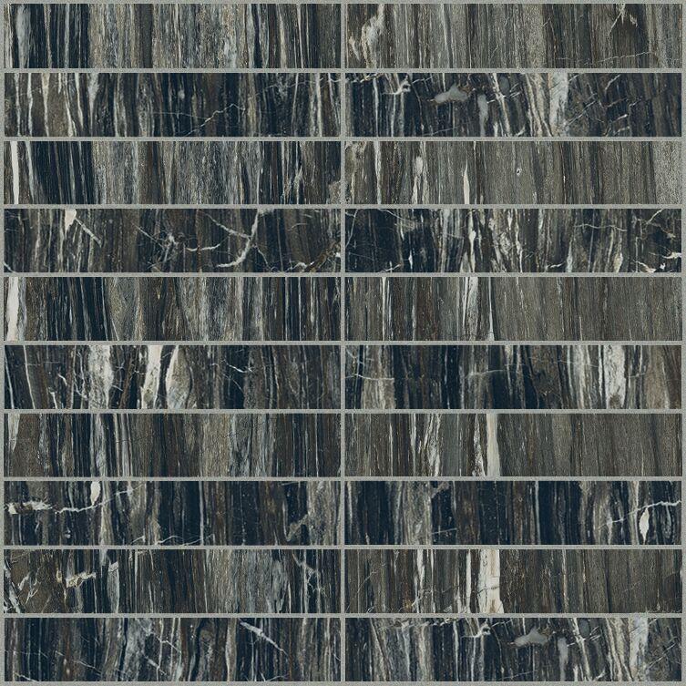 Brazilian glossy  mosaico 3x15 30x30 cm
