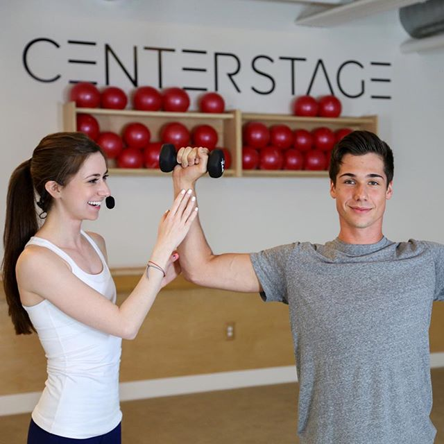Center Stage: Redefining what it means to barre⚡️. #TheCenterStageDIFFERENCE