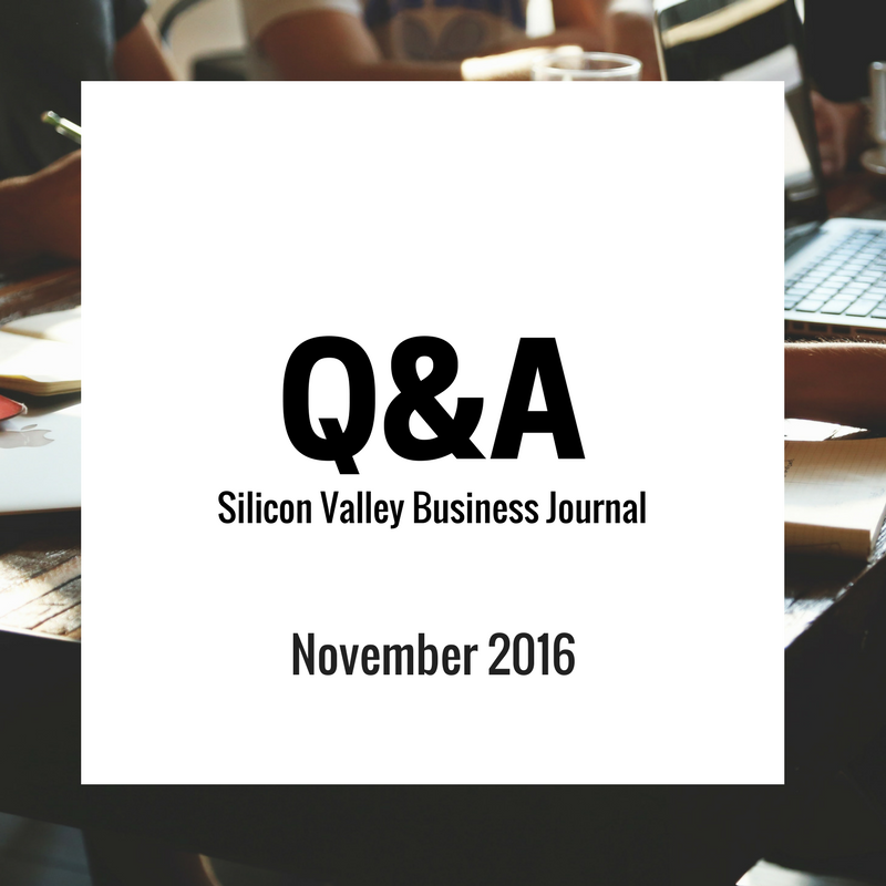 Q&A - SV Business Journal