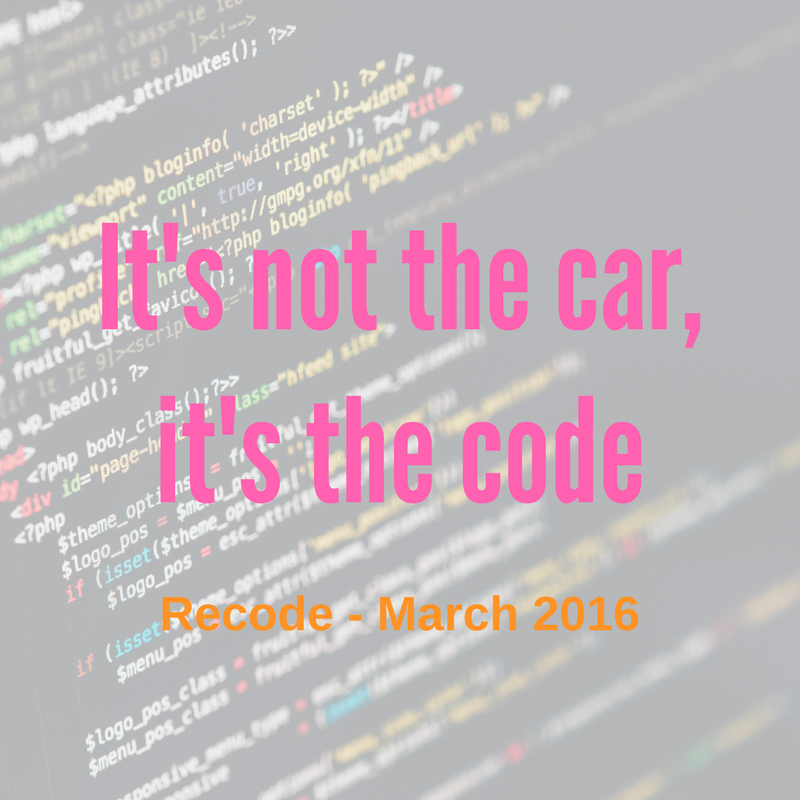 Code for Cars - Recode