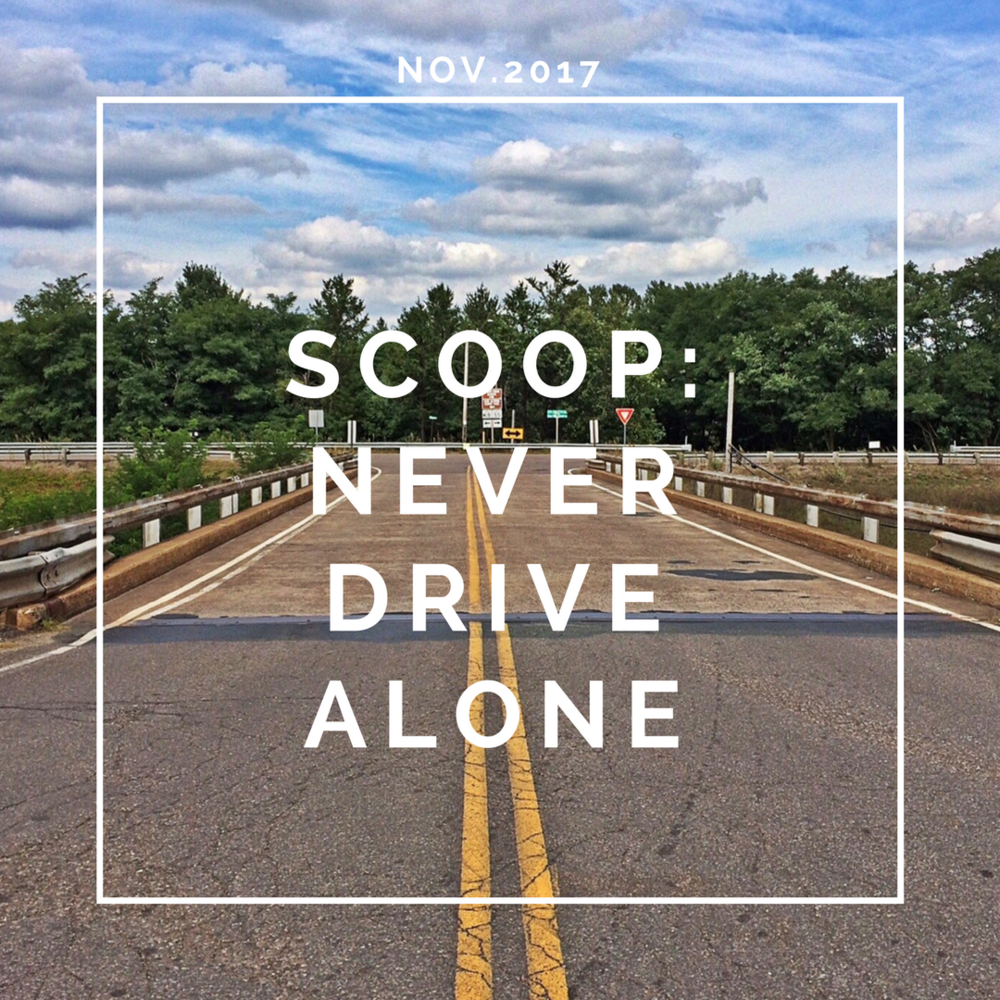 Blog: Scoop: Never Drive Alone