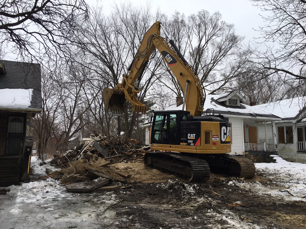 RESIDENTIAL DEMOLITION   Since 1995, Able Demolition has provided the Metro Detroit area with quality demolition services. While doing over 300 residential demolitions per year, we stay true to finishing the project in the most cost effective and best possible way that fits our clients' needs. Choosing us as your demolition contractor, you will receive professional work from our highly trained employees and in a timely matter. Most residential properties will take less than a day to demolish and load out and another day to back fill and grade to your requirements.