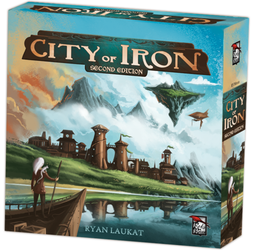 City of Iron Second Edition (T.O.S.) -  Red Raven Games