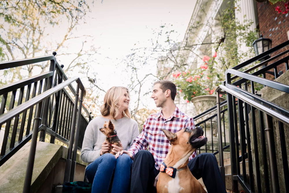 champaign engagement photographer