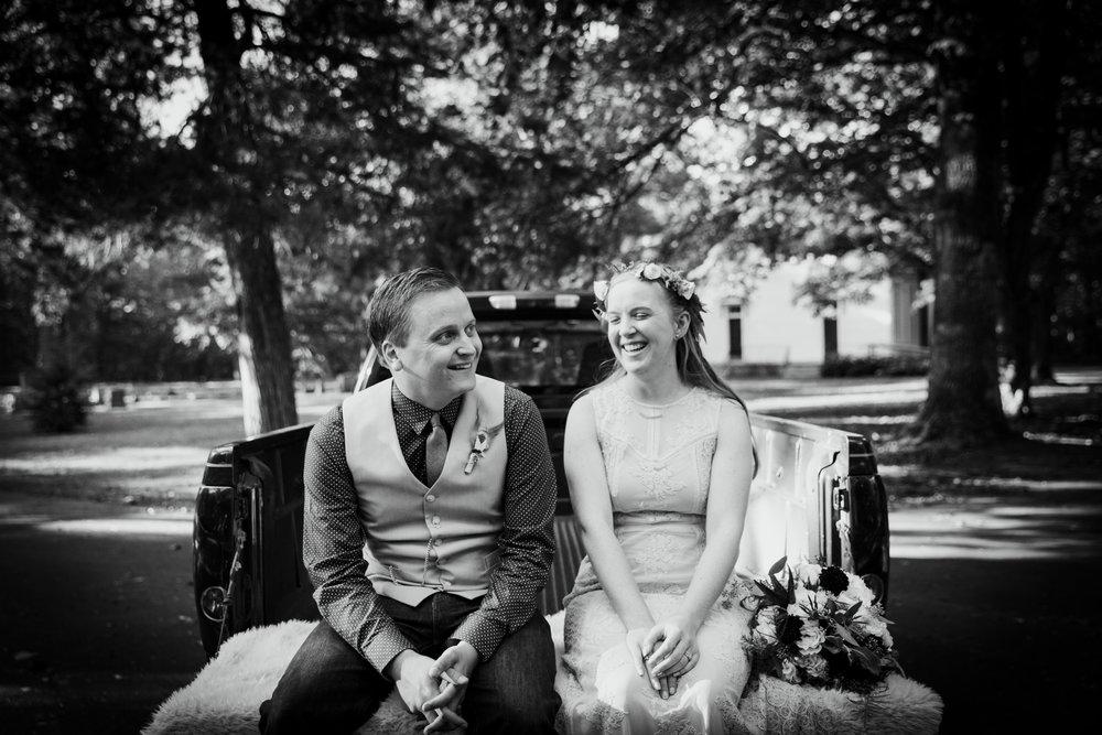 funks grove wedding
