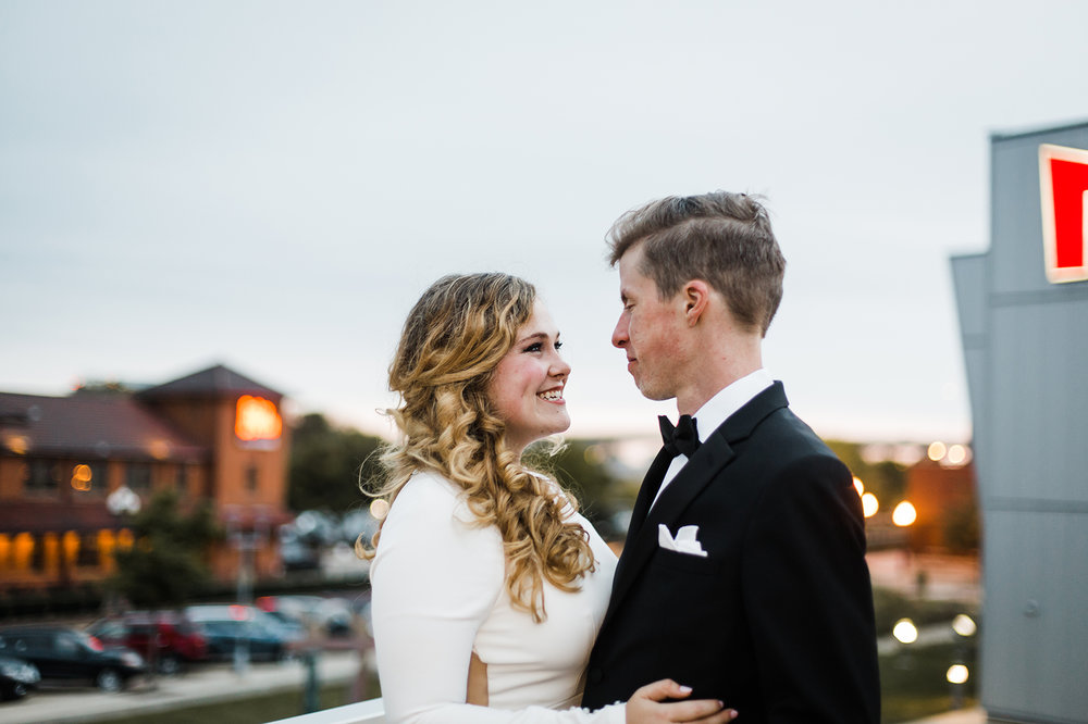 Peoria Riverfront Museum Wedding
