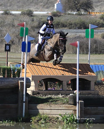 Callia Englund and Xyder in the Twin Rivers CCI1*. Photo by Marcus Greene Outdoor Photography.