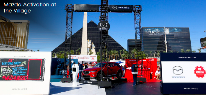 MAZDA  - IHEARTRADIO VILLAGE