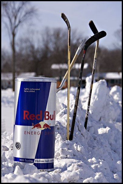 RED BULL  - OPEN ICE