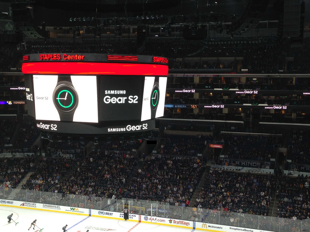 Samsung - Los Angeles Kings video board activation