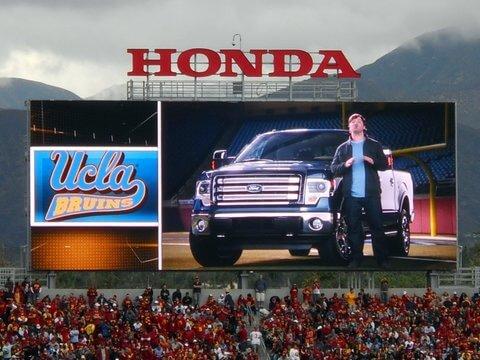 Ford trucks, live sports