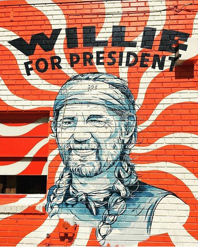 The sentiment remains. Collaboration with @jacquioakley and @jswec for old time friends @stagprovisions #willieforpresident
