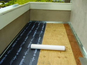 SubSeal™ is an excellent choice to properly waterproof under concrete or tile.