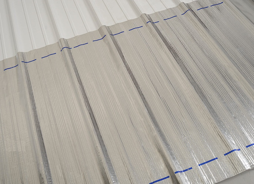 Peel & Seal® can be used to re-surface entire metal roofing sections that have become damaged or pitted. Rusty surfaces require priming before installation.