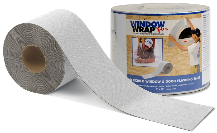 WindowWrap® Flex is only available in shrink-wrapped and labeled rolls that are ideal for retail display. Instructions are printed in English, French Canadian and Latin American Spanish.