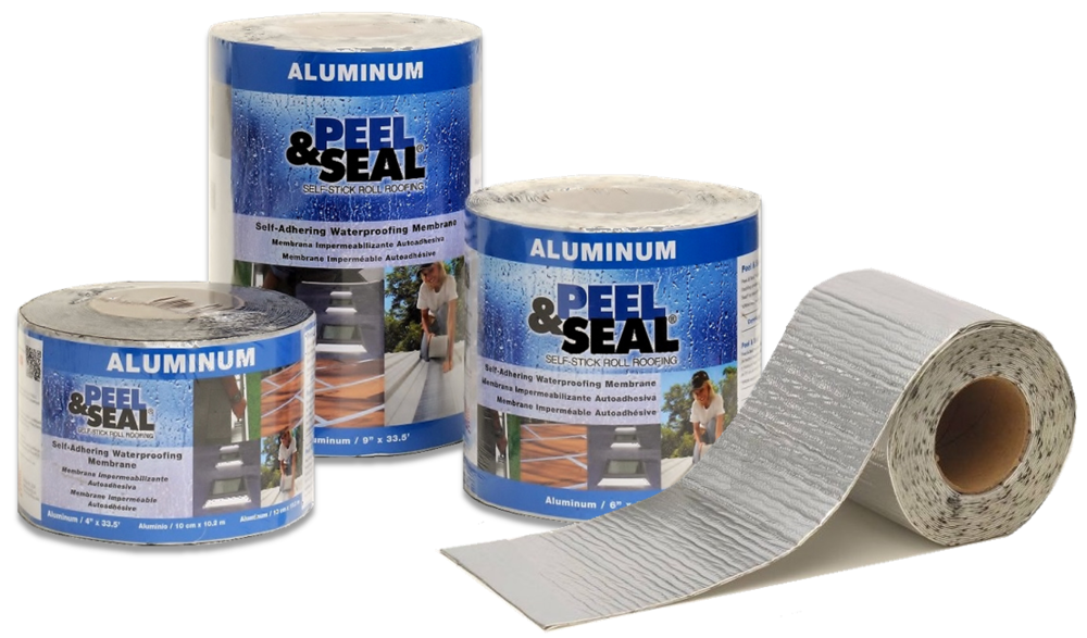 Peel & Seal® Aluminum and White Shrink-Wrapped Products