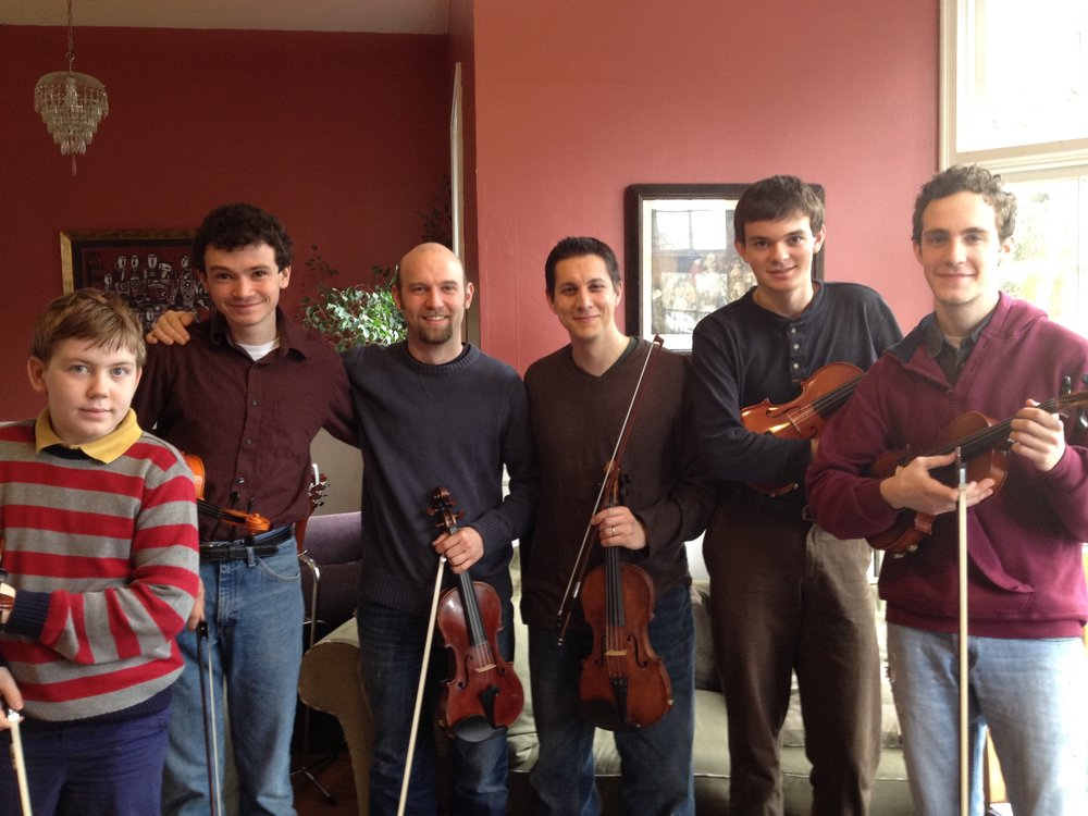 Fine group of fiddlers at Gutenberg!
