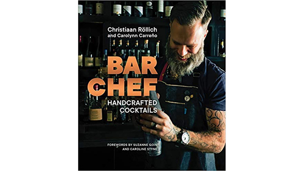 """An inviting handbook for cocktails rooted in classics and updated with a farm-to-glass ethos, from """"one of LA's most innovative mixologists"""" ( Forbes ).   Celebrated Los Angeles bartender Christiaan Röllich approaches a drink the way a master chef approaches a dish: he draws on high-quality seasonal ingredients to create cocktails for every occasion.  In  Bar Chef , Röllich shares 100 original recipes for drinks that are as beautiful as they are delicious, including the Quixote (gin and grapefruit); a Kentucky Sour (bourbon and homemade cola syrup); Eggnog for the holidays; and Röllich's signature drink, the Green Goddess (green tea vodka and cucumber with arugula, jalapeno, and absinthe), which has become a part of the language of LA.  Featuring easy-to-follow recipes for syrups, tinctures, liqueurs, and bitters with herbs, spices, and seasonal fruit, Röllich guides you through his creative process, demystifying the craft of cocktail making. With stunning color photography and the suave storytelling of your favorite bartender,  Bar Chef  will become a go-to bar book for home cooks and cocktail enthusiasts, inspiring and pleasing readers with every drink."""