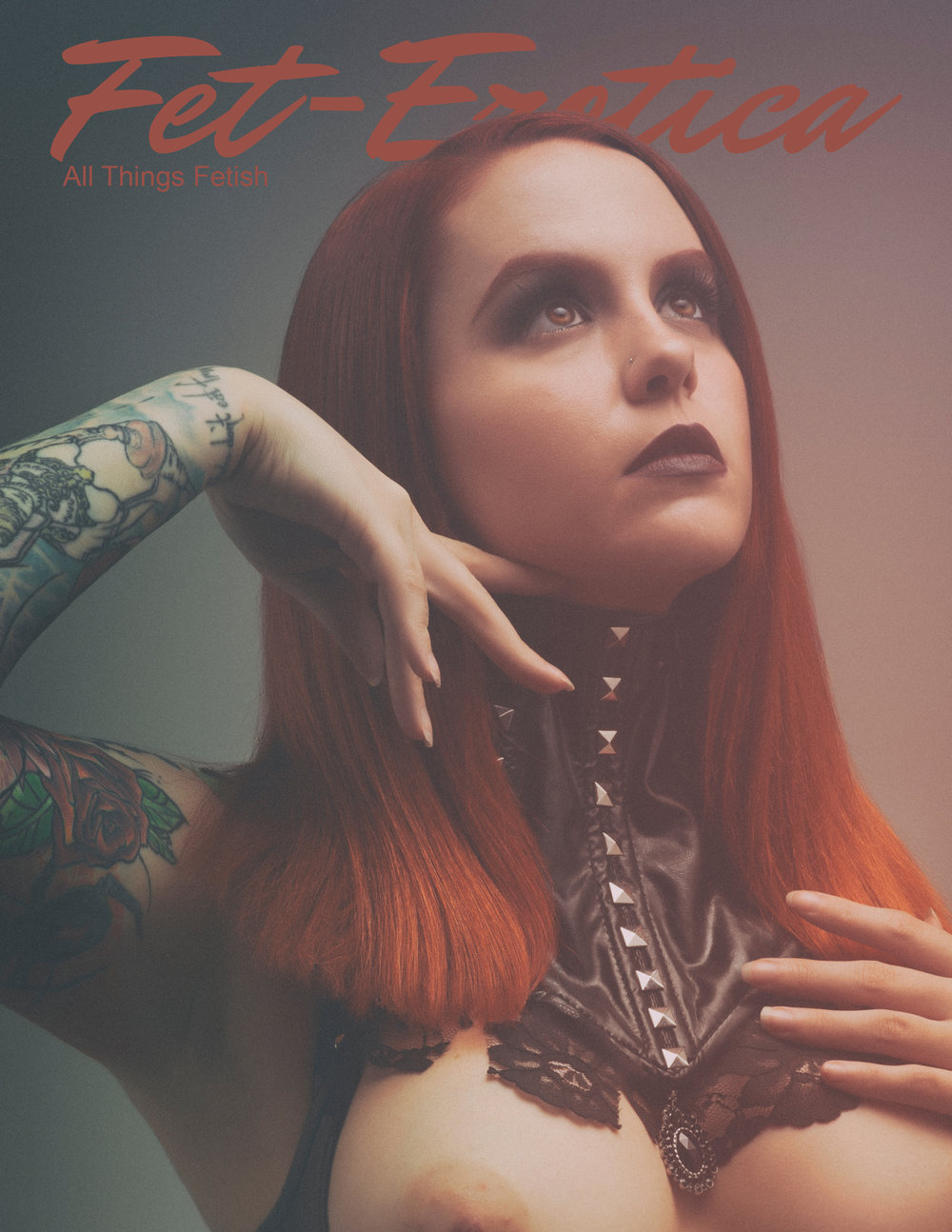 Fet-Erotica Magazine Issue 2 Fetish cover
