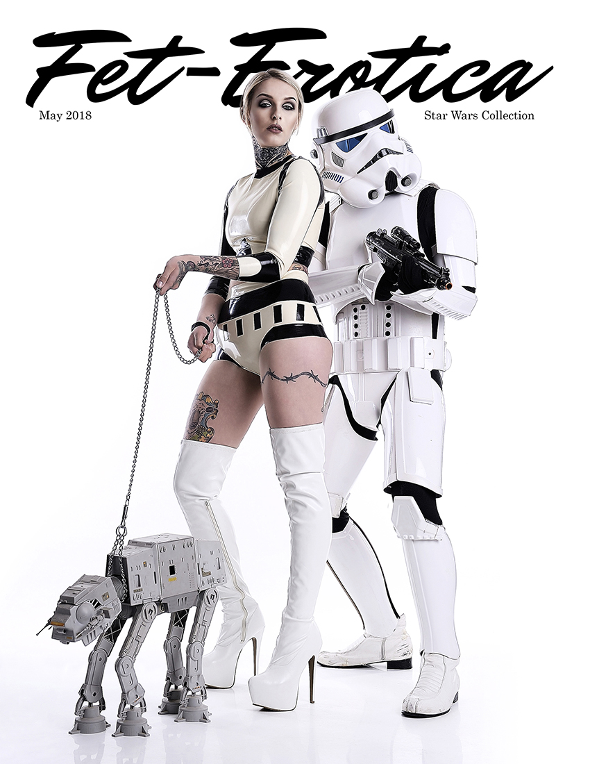 Star Wars Cover Killer Heels Photography | Models Kristie Munro & TK-4468