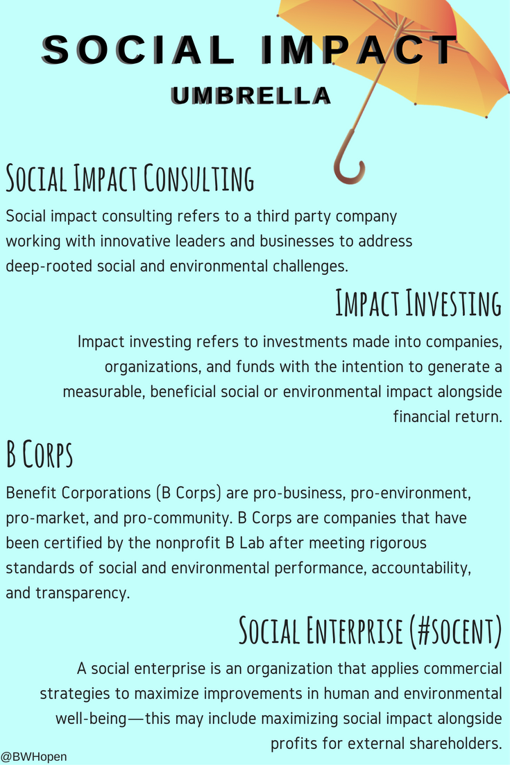 social impact umbrella