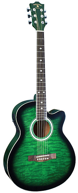 Indiana Madison Elite Quilted Green