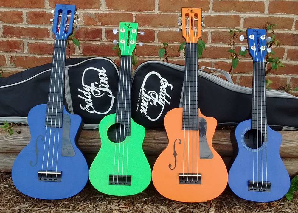 Eddy Finn's All Terrain Beach Ukuleles - The Beachmaster and Beachcomber Ukulele