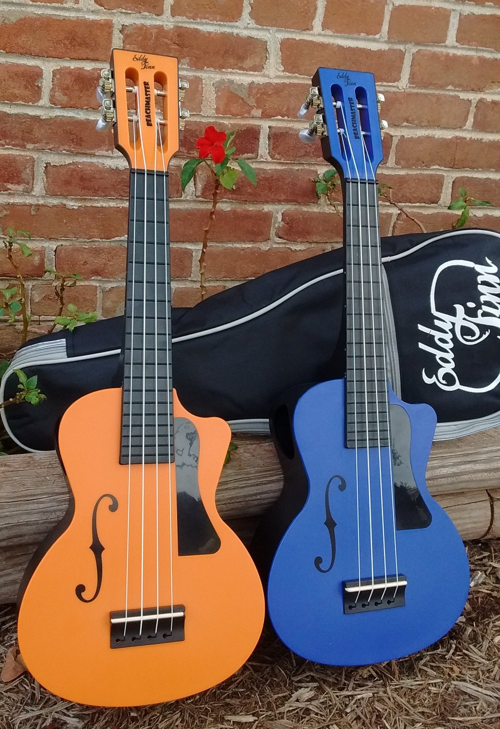 Eddy Finn Beachmaster Concert Ukulele - available in Orange, Blue, Red, and Green