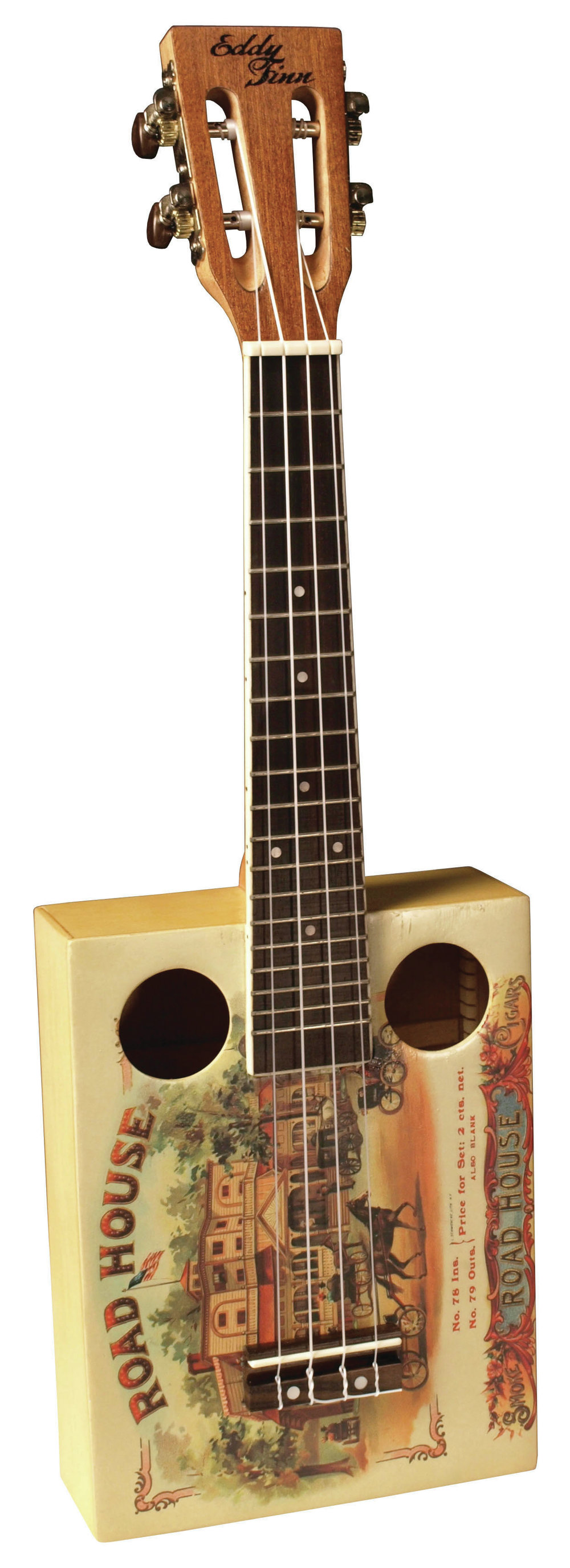 Eddy Finn Roadhouse Cigar Box Ukulele
