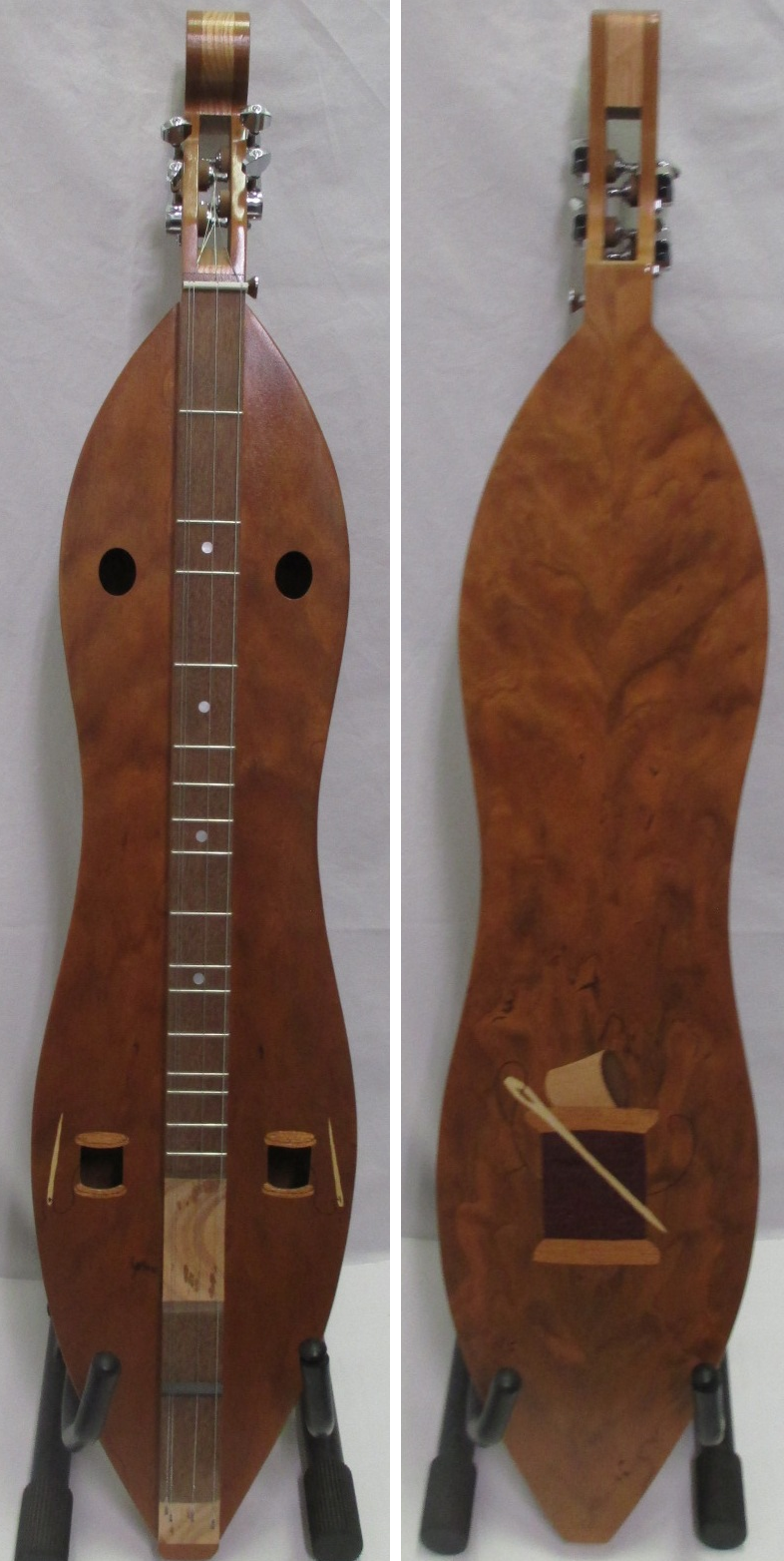 Cherry Needle & Thread Dulcimer