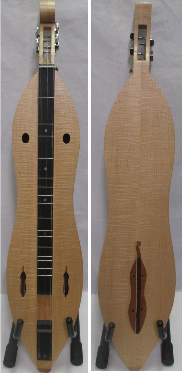 Curly Maple Dulcimer